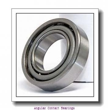 35 mm x 80 mm x 21 mm  Timken 7307WN Angular Contact Bearings