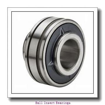 28,575 mm x 62 mm x 23,82 mm  Timken RA102RR Ball Insert Bearings