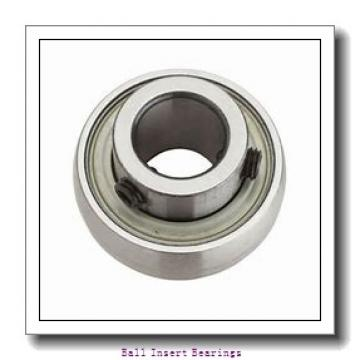 42,8625 mm x 85 mm x 42,86 mm  Timken 1111KRR Ball Insert Bearings