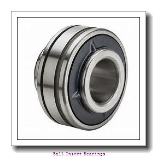 38,1 mm x 80 mm x 42,86 mm  Timken 1108KRR Ball Insert Bearings #1 image