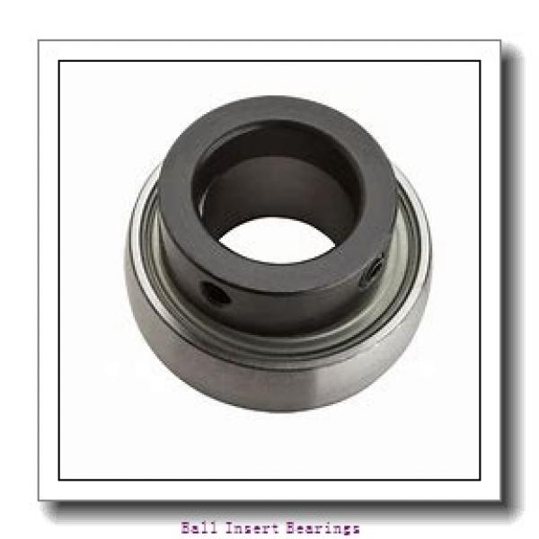 38,1 mm x 80 mm x 42,86 mm  Timken 1108KRR Ball Insert Bearings #2 image